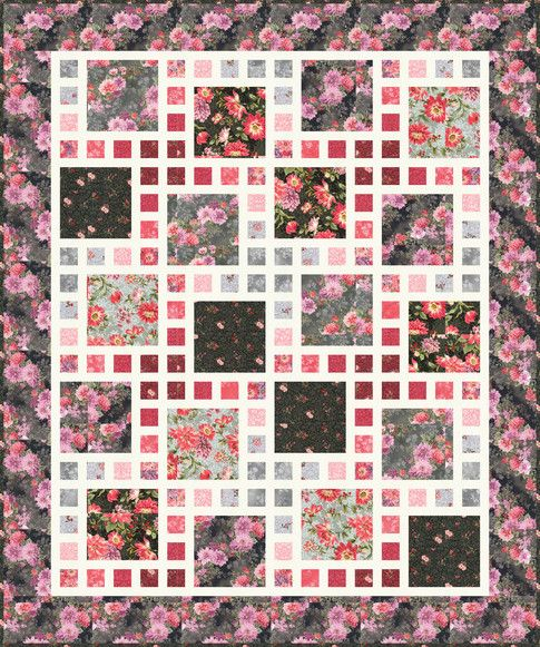 Arcadia Designed By Mountainpeek Creations Features Surrey Meadows By Studio Rk Shipping To Stores February 2020 Pat Quilts Robert Kaufman Fabrics Quilt Kit