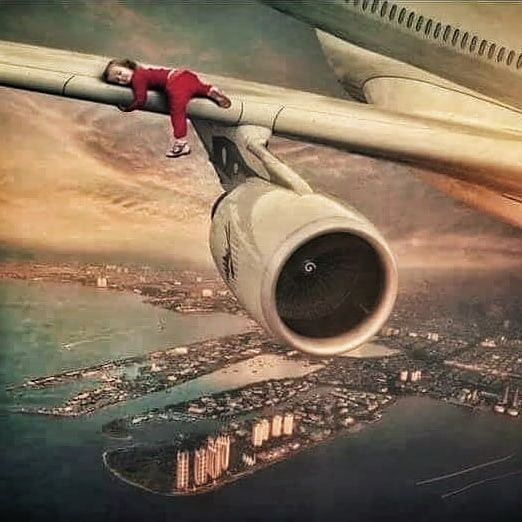 Thats A Dream Plane For Everyone Rifland Photooftheday Beach Summer Sun Sky Fitness Fit Sun P Cool Pictures Surrealism Photography Photo Manipulation