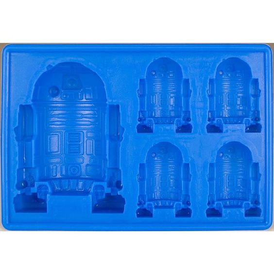 R2 D2 Star Wars Silicone Mold by AnnettesCakeSupplies on Etsy