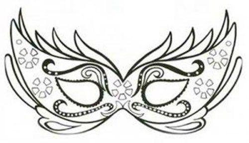 45 Maszk Sablon Pagi Decoplage Masken Vorlage Ausmalbilder Masken Vorlagen