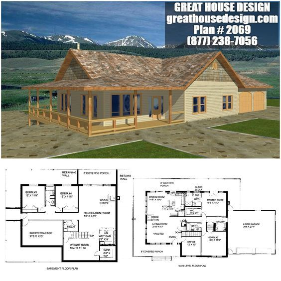 Home Plan 001 2069 Home Plan Great House Design House Plans Country House Plans Building Plans House