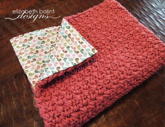 Double Sided, Crochet Baby Girl Blanket with Bird Pattern ...