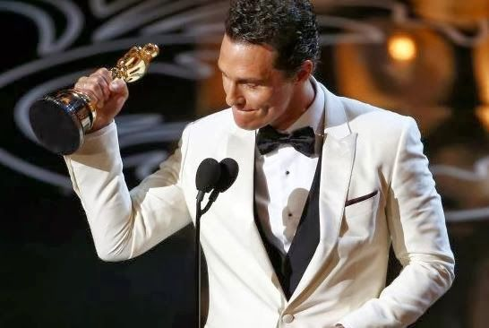 Hollywood News: Matthew McConaughey Gave Praise to God at Oscars | AT2W