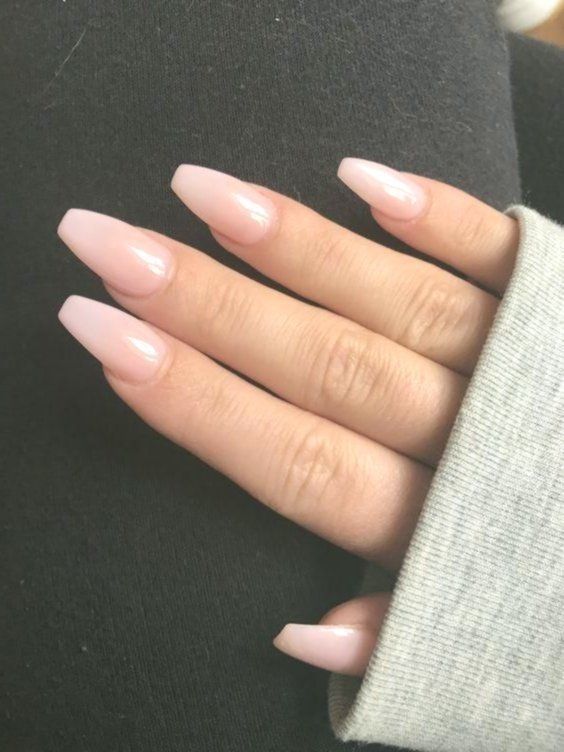 Cute Acrylic Nails Square Coffin Nails Are No Different Than The Normal Nails However They Got Short Coffin Nails Natural Acrylic Nails Coffin Nails Designs