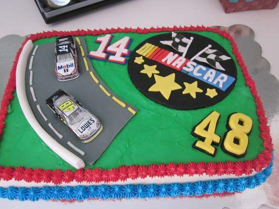 Happy Birthday Richard Petty Car Cakes