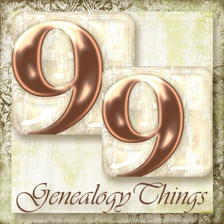99-Genealogy-Things