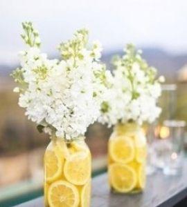 centros de mesa sencillos y elegantes para boda