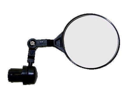 Espejo retrovisor que se acopla al extremo del manillar de la bicicleta. http://www.efimarket.com/espejo-retrovisor-bicicleta