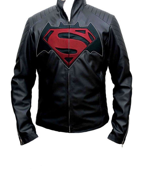 Dawn of Justice Superman Vs Batman Faux Leather Jacket - Money back Guarantee in Clothes, Shoes & Accessories, Men's Clothing, Coats & Jackets | eBay