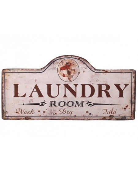 Szyld metalowy Laundry Room