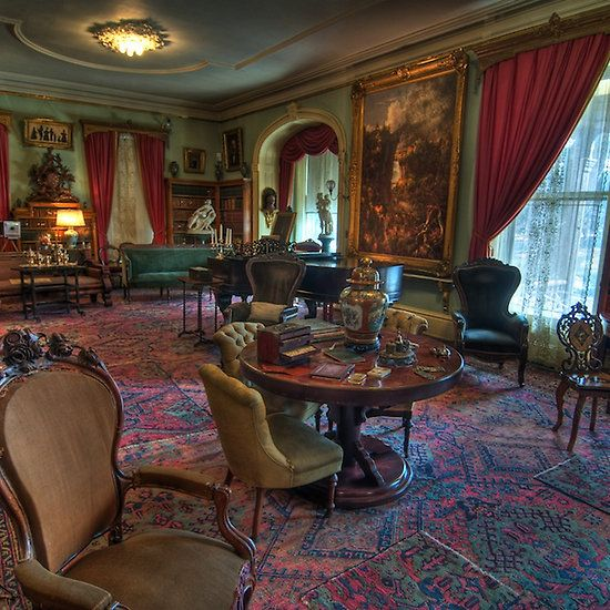 Home Decor Home Interiors: Formal Parlor Living Room 1800's Home