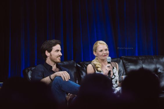 Colin O'Donoghue and Jennifer  Morrison @ NerdHQ | by suzie_s
