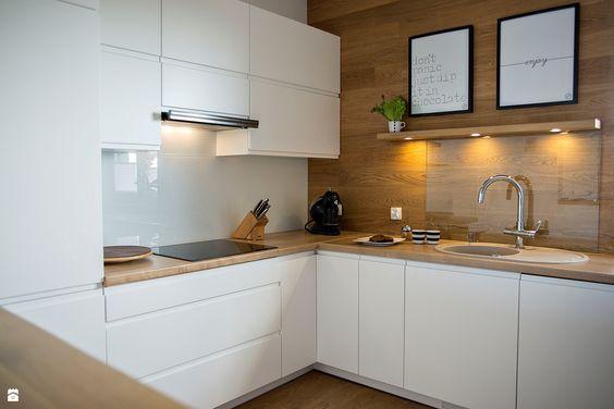 wohnideen küche moderne kücheninsel bodenbelag holzoptik Küchen - bodenbelag für küche