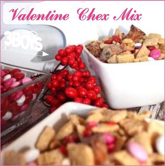 valentine chex mix recipe