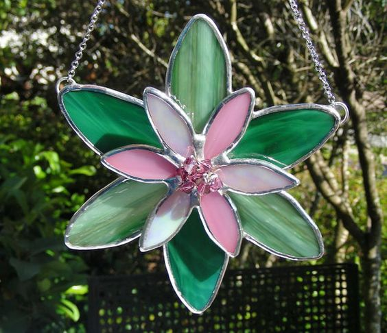 Pink Lotus Flower by MoreThanColors on Etsy,