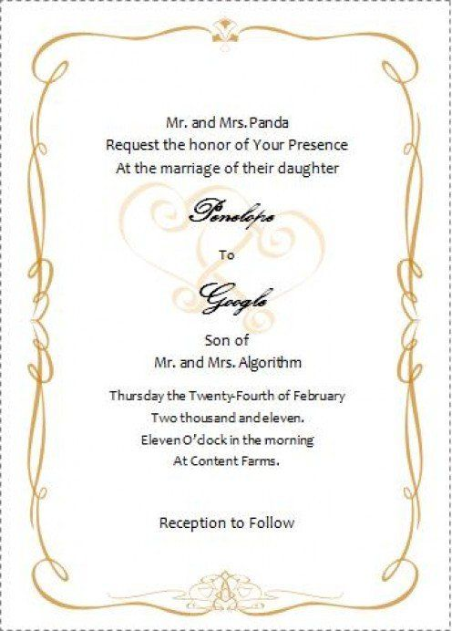 Wedding Invitation Templates Word Document Luxury Weddin Wedding Invitation Templates Free Wedding Invitation Templates Wedding Invitations Printable Templates