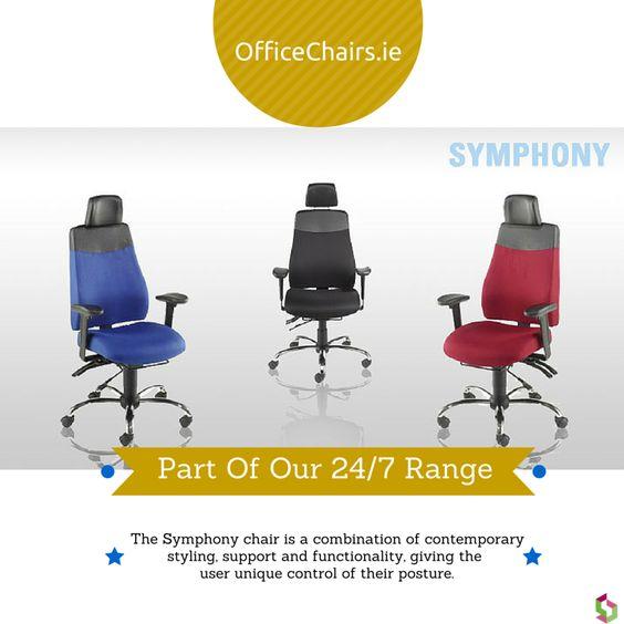 Symphony - Part of our 24/7 Chair Range #office #ergonomic