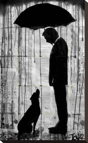 Stretched Canvas Print: Old Friend by Loui Jover :