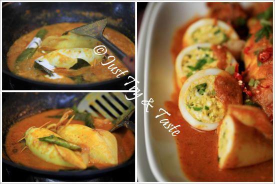 Resep Kalio Cumi Cumi Isi Tahu Dan Telur Di 2020 Resep Makanan Cina Masakan Resep Masakan