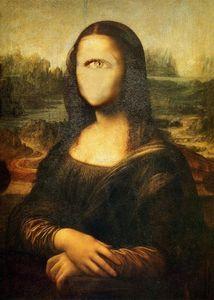 Me as Mona Lisa !