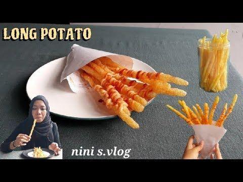 Long Potato Tanpa Cetakan Stick Kentang Long Potato Recipe Subtitute Youtube Resep Makanan Kentang Cemilan