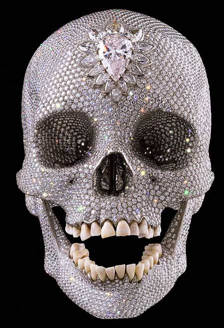 Most Expensive Piece of Art: Diamond Skull. $98,000,000