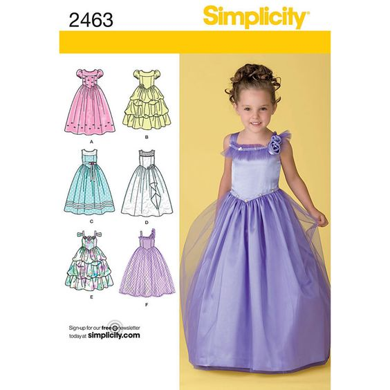 Simplicity Child''s Special Occasion Pattern - Girl Patterns