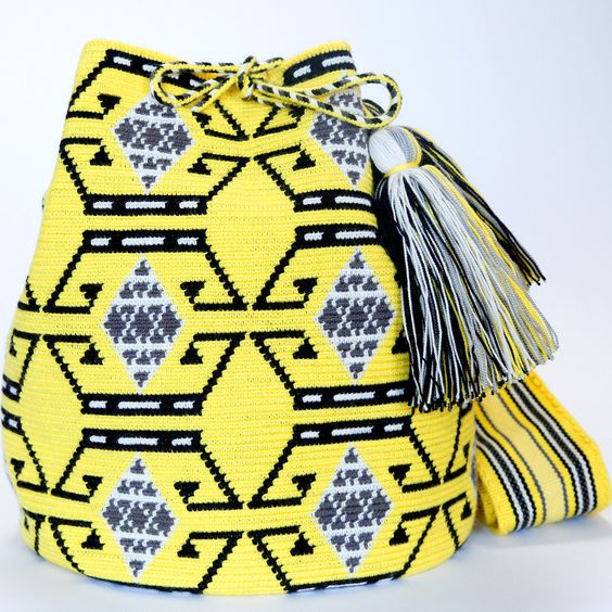 Hermosa Wayuu Mochila Bag | WAYUU TRIBE – WAYUU TRIBE | Handmade Wayuu Mochilas Boho Bags: