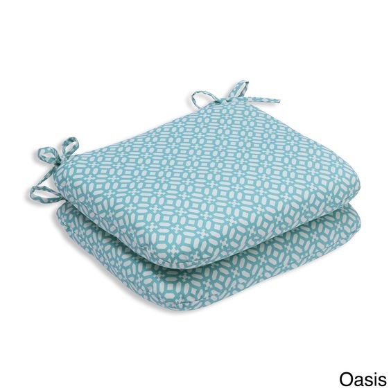 Pillow Perfect Outdoor/ Indoor In The Frame Rounded Corners Seat Cushion