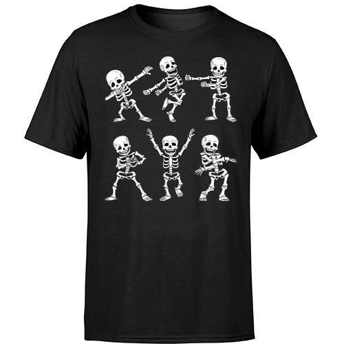 Cute Kids Halloween Dance Shirt Dance Skeleton