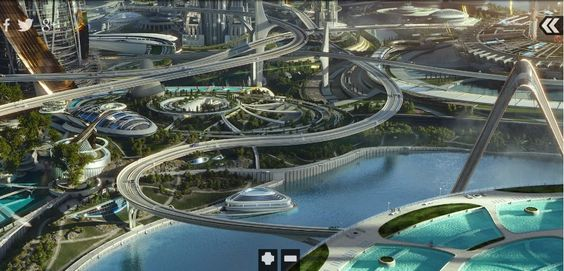 Soaring TOMORROWLAND Concept Art Lands Online « Film Sketchr
