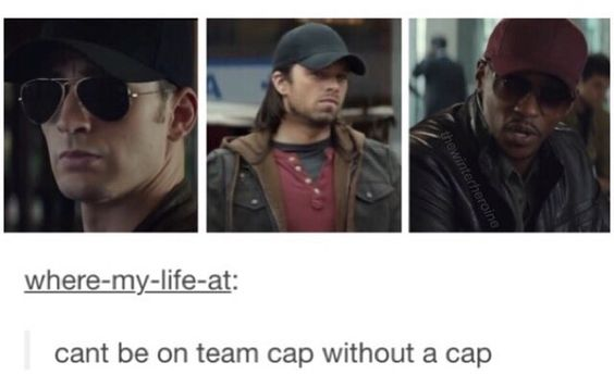 We have seen Jeremy in a cap, too. Now all we need is Elizabeth & Paul in a cap & we're good to go!