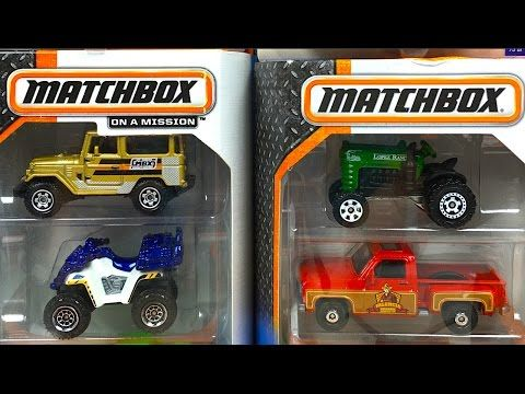 LAUNCH CONTROL TRACTOR-TRAILER and 3 parts REAL TALKIN/' PACKS MATCHBOX