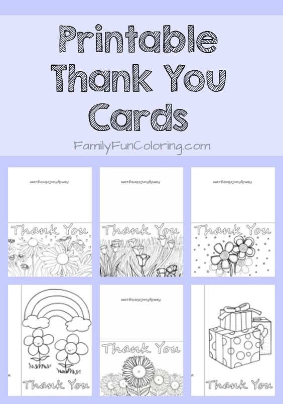 Choose From Holiday Cards Birthday Cards Printable Thank You Cards To Color Hundre Teacher Thank You Cards Thank You Cards From Kids Thank You Card Template