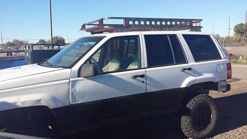 Zj 93 98 Grand Cherokee Zj Roof Rack Roof Rack Grands Jeep Zj