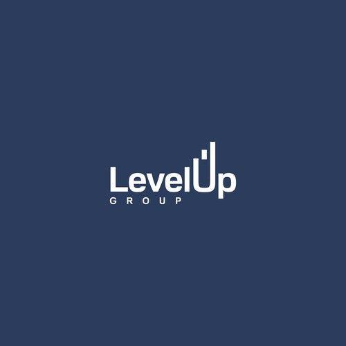 Level Up Group Logo Design Logo Design Contest Winning Design Logo Level In 2021 Logo Design Contest Logo Design Clever Logo Design
