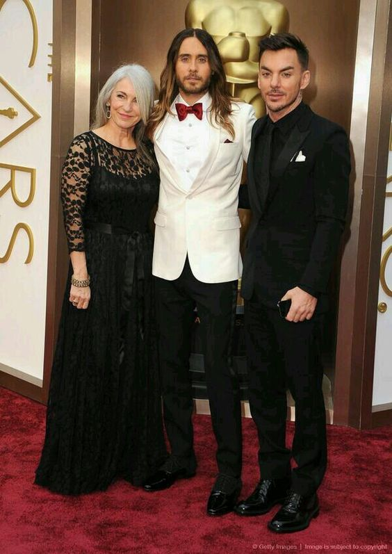 Leto family looking fab