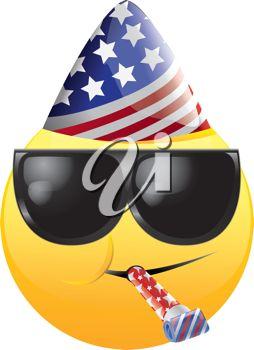 4th of july emoji art