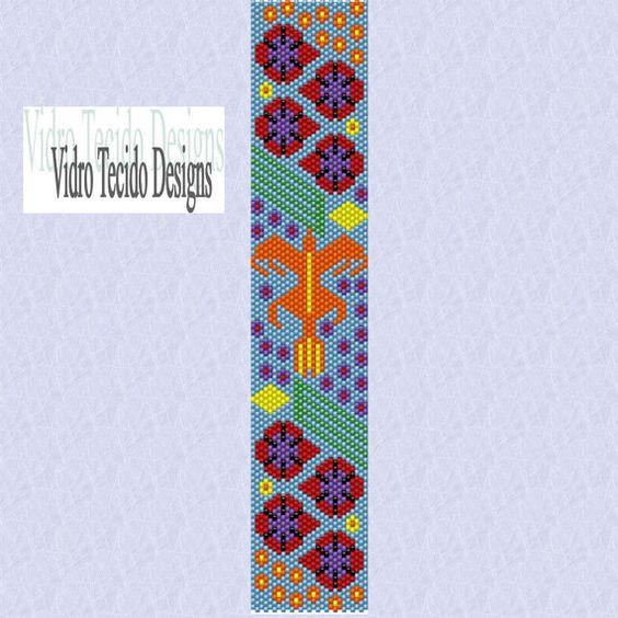 Huichol 3 Peyote Pattern. $2.00, via Etsy.