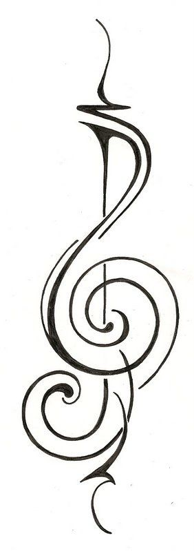 tribal music note tattoo ideas pinterest music notes