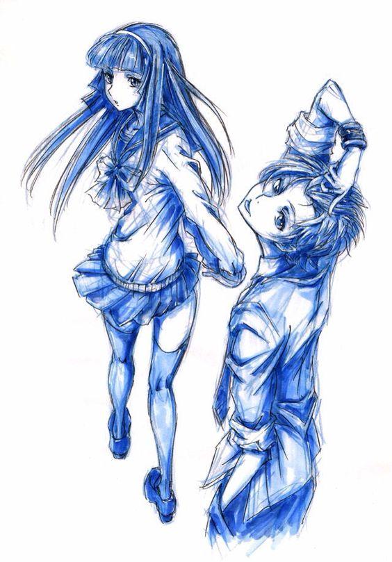 Mahiro and Aika - Zetsuen no tempest