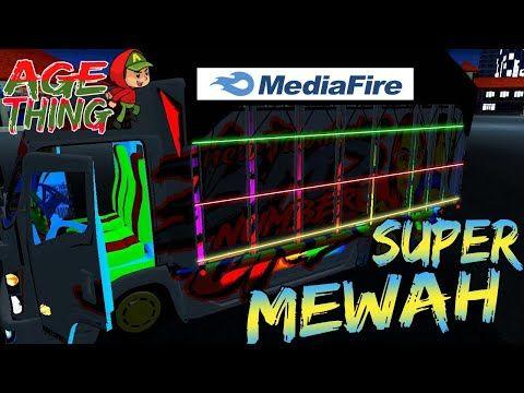 Download Mod Bussid Truck Canter New Tawakal 2 Full Strobo Truk Besar Konsep Mobil Modifikasi Mobil