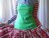 Alice in Wonderland custom lolita shirt handmade to order - Drink Me - smarmyclothes kawaii diy. $99.00, via Etsy.
