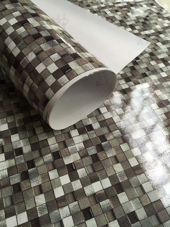 Stick and peel tiles for flooring