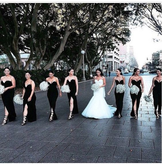 The perfect wedding party