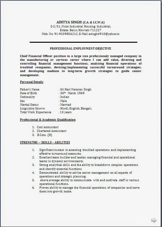 Resume Format For 5 Years Experience In Operations Resume Format Resume Templates Engineering Resume Templates