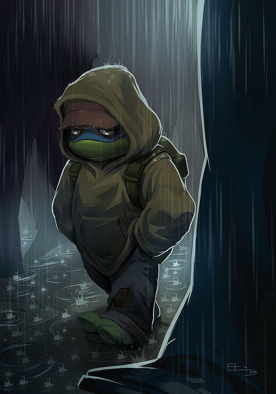 Sad Turtle  by Emilio J. Lopez