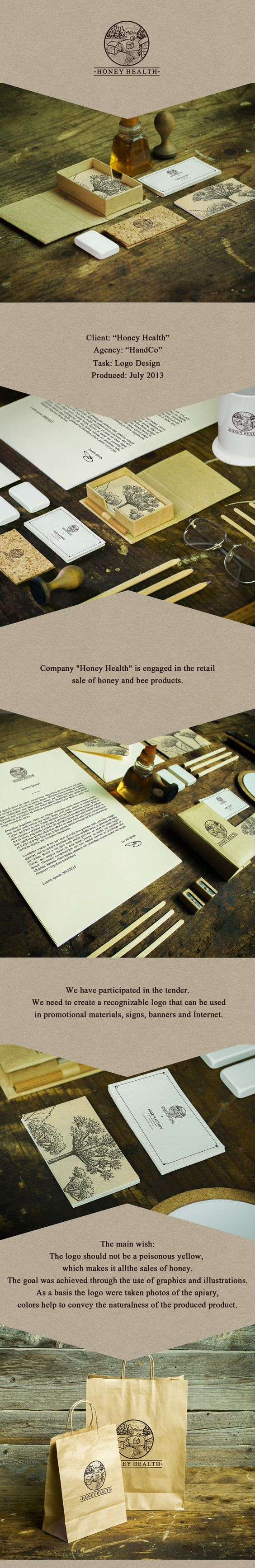 Honey Health by Handco Project, via Behance