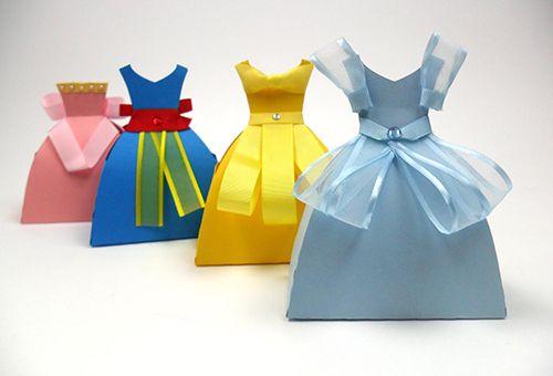Aprenda a fazer embalagens para presente com o tema Princesas