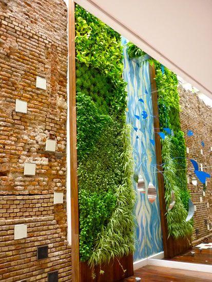Jardines verticales vertical garden wall jardines for Pinterest jardines verticales